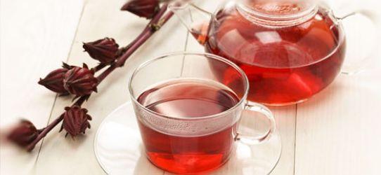 Experimente o Chá de Hibisco