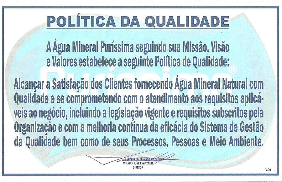 purissima-politica-qualidade